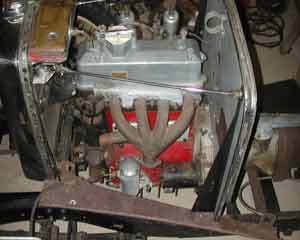PA left engine